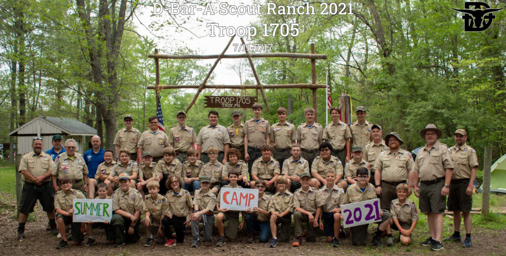 Troop 1705 - Summer Camp 2021 – D-A Riverside